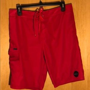 Other - O'Neil red board shorts